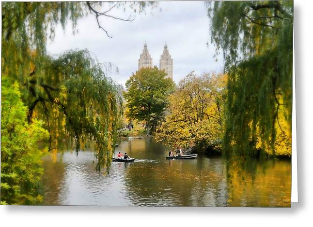 Central Park West Greeting Cards - Central Park #7 Greeting Card by Diana Angstadt