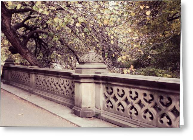 Central Park - New York Greeting Card by Marianna Mills