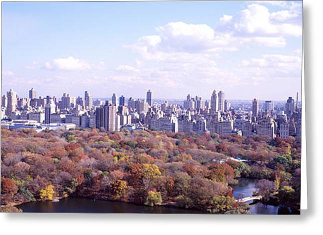 Central Park, Nyc, New York City, New Greeting Card by Panoramic Images