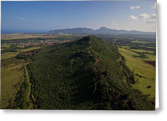 Penn Cove Greeting Cards - Central Plains Kauai Greeting Card by Steven Lapkin