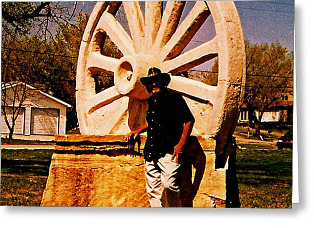 Wagon Sculptures Greeting Cards - Centrosphere 1 Greeting Card by Vincent Von Frese
