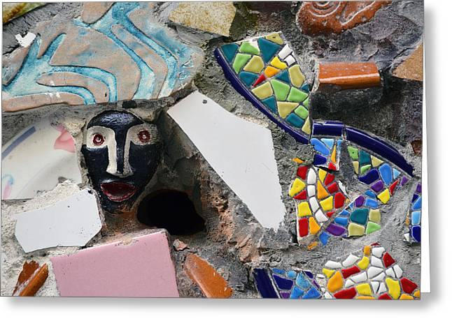 Town Square Greeting Cards - Ceramic Wall Greeting Card by Mirko Dabic