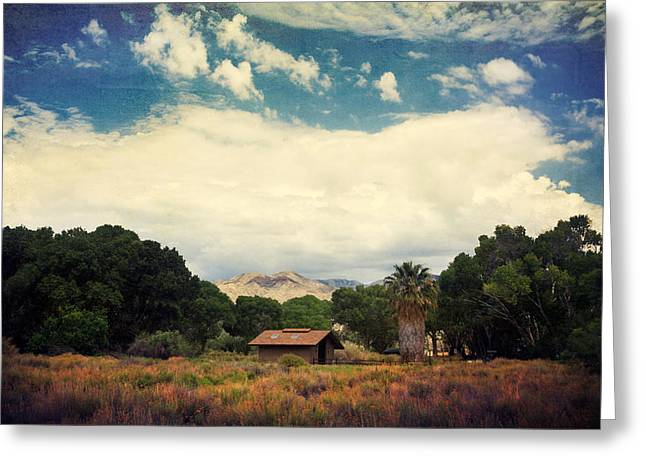 Textured Landscapes Greeting Cards - Certain Needs Greeting Card by Laurie Search