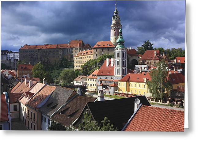 Czechia Greeting Cards - Cesky Krumlov Czech Republic  Greeting Card by Ivan Pendjakov