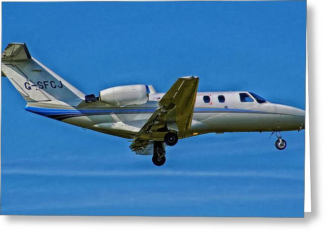 Cessna Greeting Cards - Cessna 525 Citation Greeting Card by Mountain Dreams