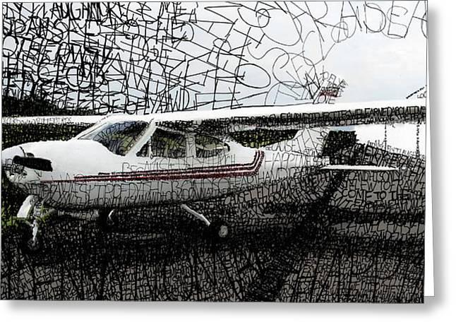 John Jr. Greeting Cards - Cessna Cardinal Greeting Card by Michael  Volpicelli