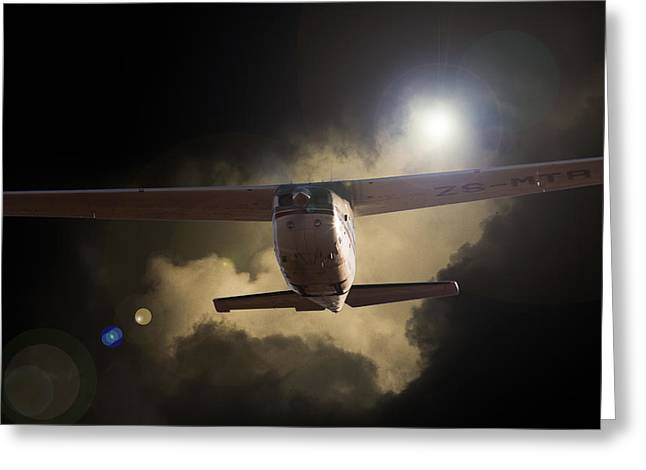 Cessna Greeting Cards - Cessna Fast Light Greeting Card by Paul Job