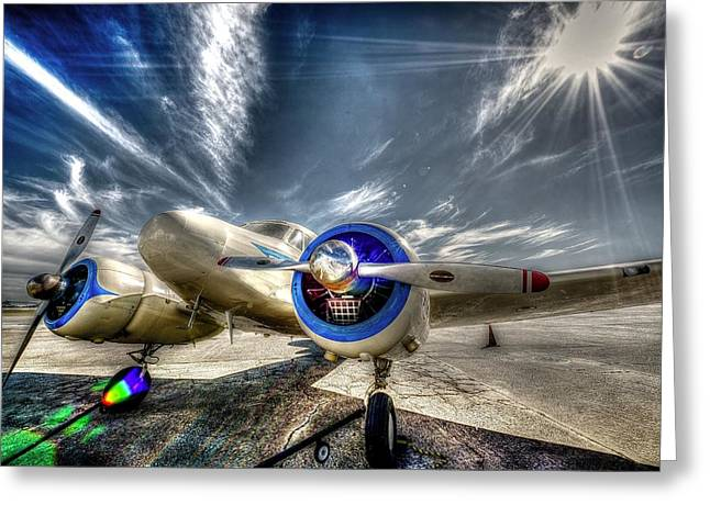 Cessna Greeting Cards - Cessna T-50 Greeting Card by David Morefield