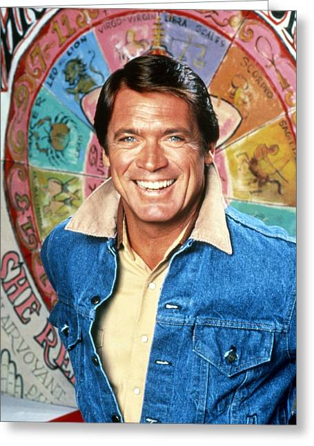 Chad Everett In The Rousters  Greeting Card by Silver Screen
