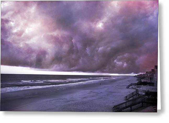 Topsail Island Greeting Cards - Chain of Events Greeting Card by Betsy C  Knapp