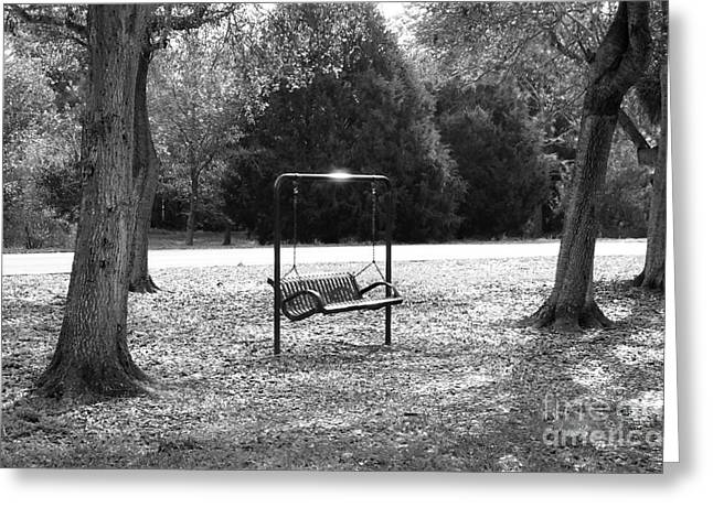 Garuna Liu Greeting Cards - Chair Greeting Card by Garuna Liu