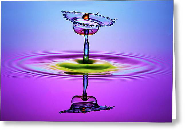 Chalice Colors Full Greeting Card by Muhammad Berkati