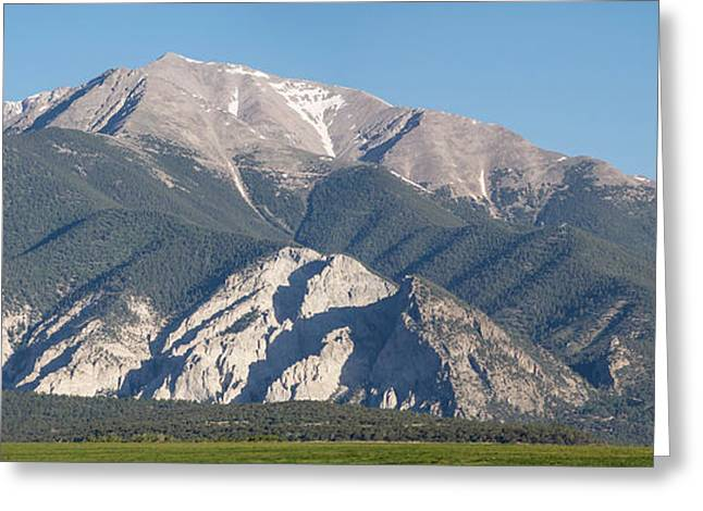 Arkansas Greeting Cards - Chalk Cliffs of Mt. Princeton Greeting Card by Aaron Spong