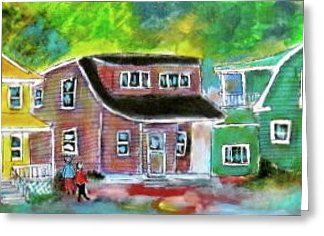 Litvack Greeting Cards - Chambly Quebec Greeting Card by Michael Litvack
