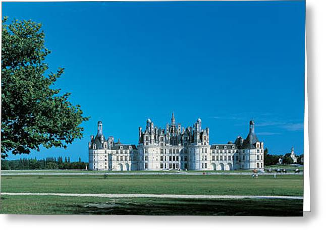 Chateau Greeting Cards - Chambord Castle Loire France Greeting Card by Panoramic Images