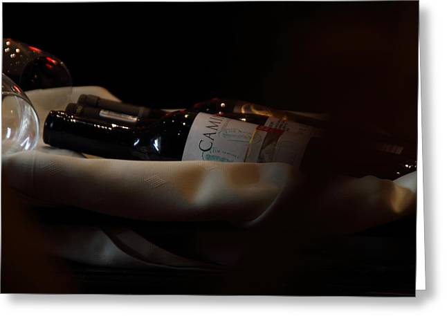 Wine Cart Greeting Cards - Party Time  Greeting Card by Ramabhadran Thirupattur