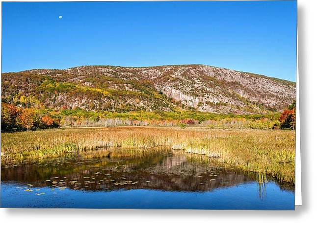 Champlain Greeting Cards - Champlain Mountain Greeting Card by Tim Sullivan