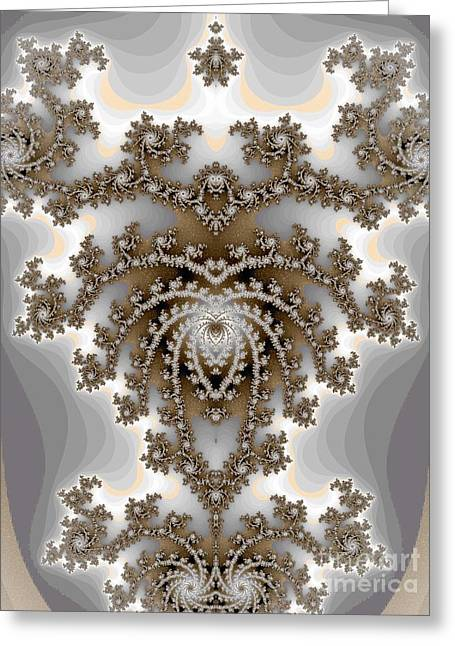 Sepia Chandeliers Greeting Cards - Chandelier  Greeting Card by Amanda Collins