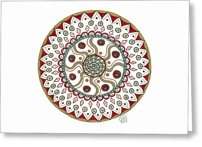 Pattern Greeting Cards - Change Greeting Card by Signe Beatrice