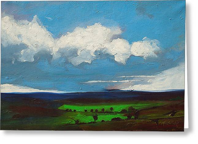 Moorland Greeting Cards - Changes Greeting Card by Neil McBride