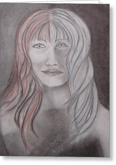 Tablets Drawings Greeting Cards - Changes Greeting Card by Rebecca Wiltfong Frisbee