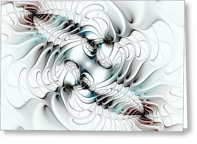 Change Mixed Media Greeting Cards - Changing Greeting Card by Anastasiya Malakhova