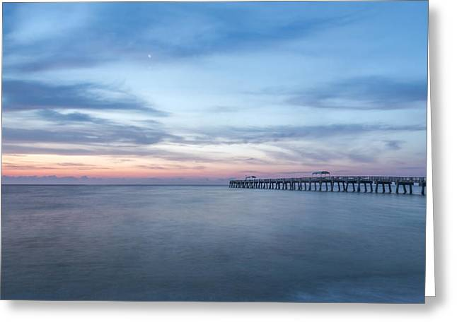 Pier Prints Greeting Cards - Changing Light Greeting Card by Jon Glaser
