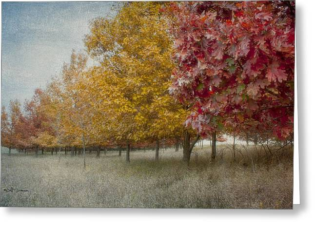 Chalco Hills Recreation Area Greeting Cards - Changing Of The Seasons Greeting Card by Jeff Swanson