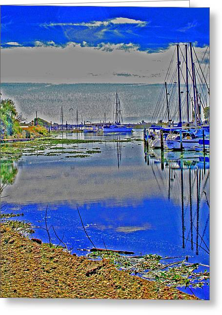 Sailboat Photos Greeting Cards - Changing of the Tide Greeting Card by Joseph Coulombe