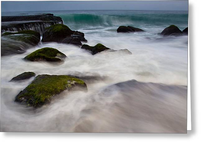 Changing Tides Greeting Card by Andrew Raby