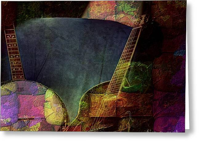 Changing Tune By Steven Langston Greeting Card by Steven Lebron Langston