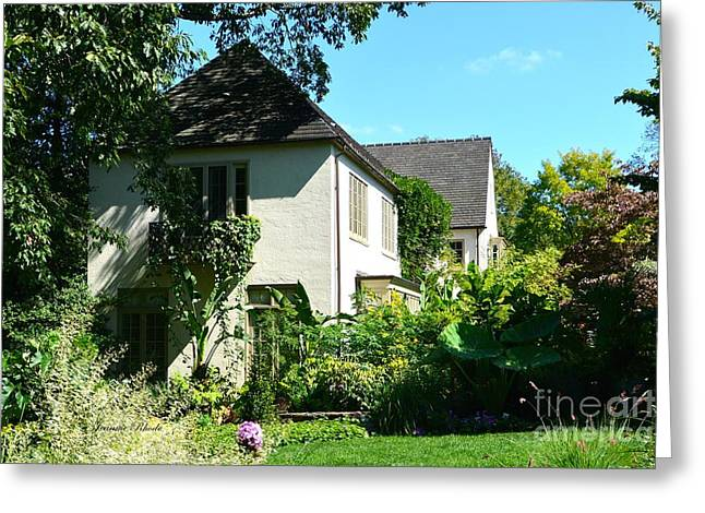 Chanticleer Greeting Cards - Chanticleer Gardens Home Greeting Card by Jeannie Rhode Photography