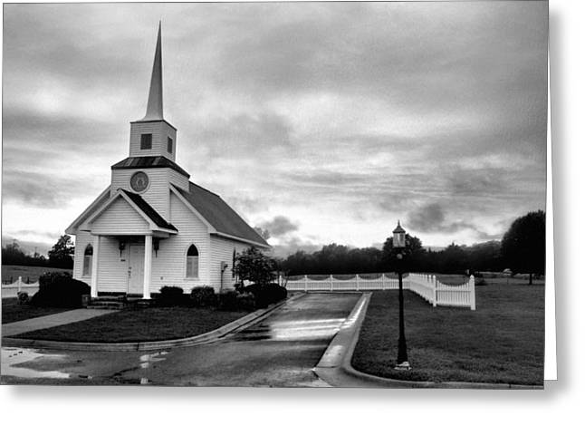 Conway Arkansas Greeting Cards - Chapel at Four Winds in Conway Arkansas Greeting Card by Jason Politte