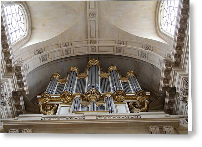 Chapel Photographs Greeting Cards - Chapel at Les Invalides - Paris France - 01133 Greeting Card by DC Photographer