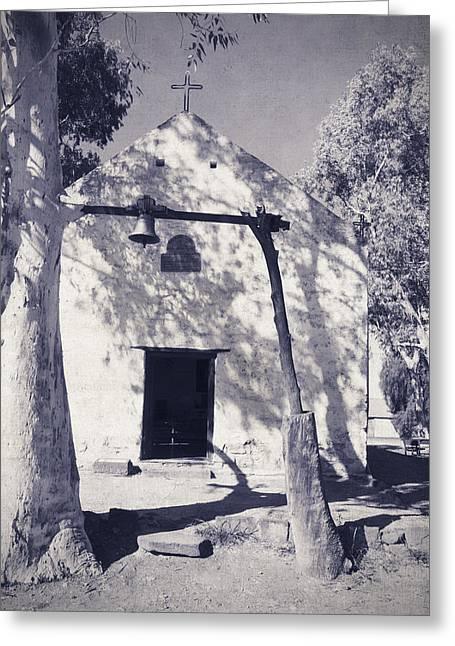 Lee Chapel Greeting Cards - Chapel in the Desert Greeting Card by Linda Lees