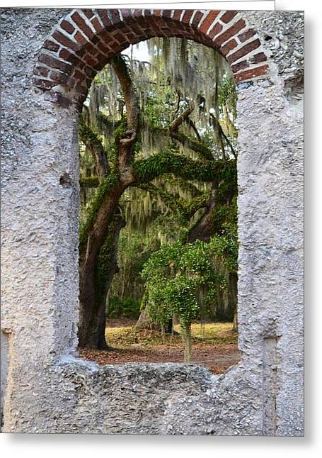 Frogmore Greeting Cards - Chapel of Ease Greeting Card by Patricia Greer