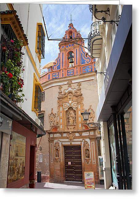 Chapel Of St. Joseph Of Seville Greeting Card by Artur Bogacki