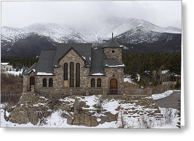 Chapel On The Rock Photographs Greeting Cards - Chapel on the rock - 2 Greeting Card by Becca Buecher