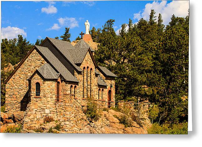 Chapel On The Rock Photographs Greeting Cards - Chapel on the Rock Greeting Card by Ben Graham