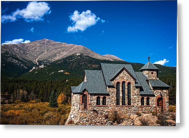 Siena Chapel Greeting Cards - Chapel on the Rock Greeting Card by Patricia A Harris
