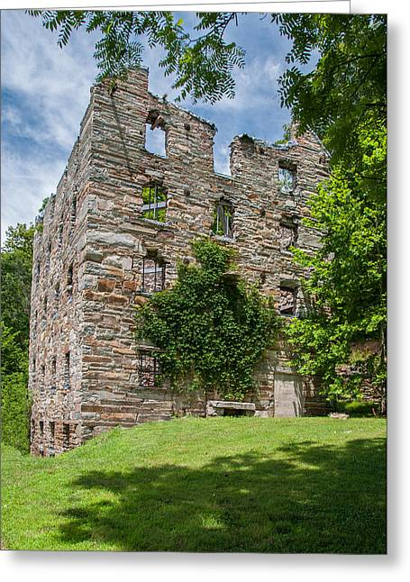 Civil War Site Greeting Cards - Chapmans-Beverly Mill Greeting Card by Guy Whiteley