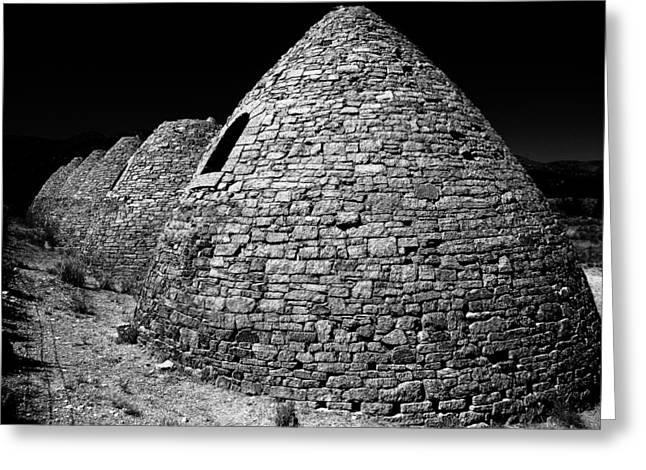 Charcoal Ovens Greeting Cards - Charcoal Ovens Greeting Card by Benjamin Yeager
