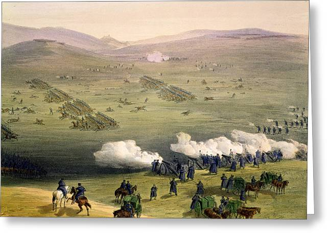 Balaclava Greeting Cards - Charge Of The Light Cavalry Brigade Greeting Card by William