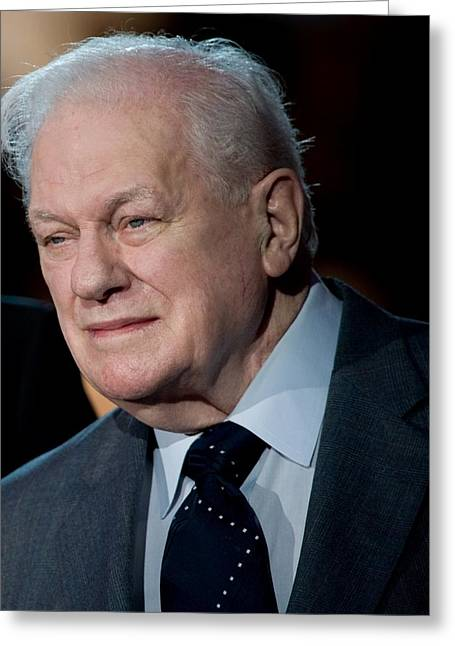 Vip Greeting Cards - Charles Durning Greeting Card by Mountain Dreams