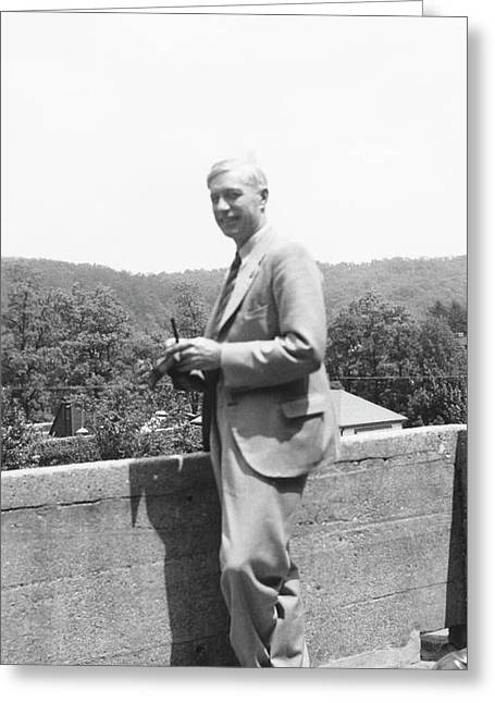 Charles Huskins Greeting Card by American Philosophical Society