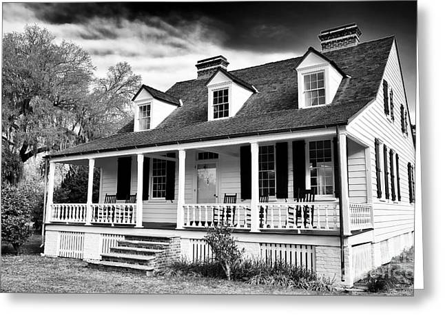Charles Pickney House Greeting Card by John Rizzuto