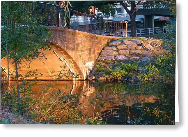 Charles Bridge Digital Greeting Cards - Charles River Footbridge Greeting Card by Toby McGuire