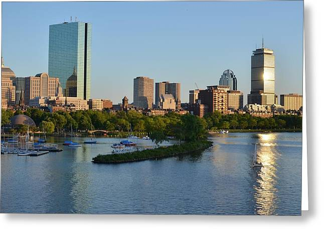 Charles River Greeting Cards - Charles River Reflection Greeting Card by Toby McGuire