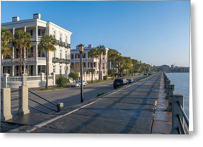 Charleston Battery Greeting Card by Willie Harper