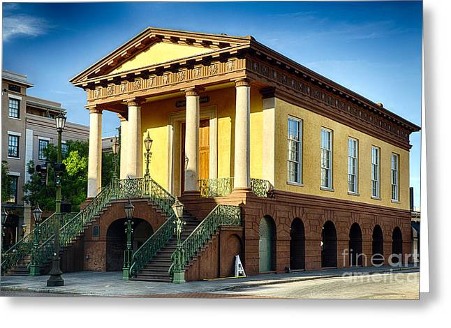 Civil War Site Greeting Cards - Confederate Museum in Charleston Greeting Card by George Oze